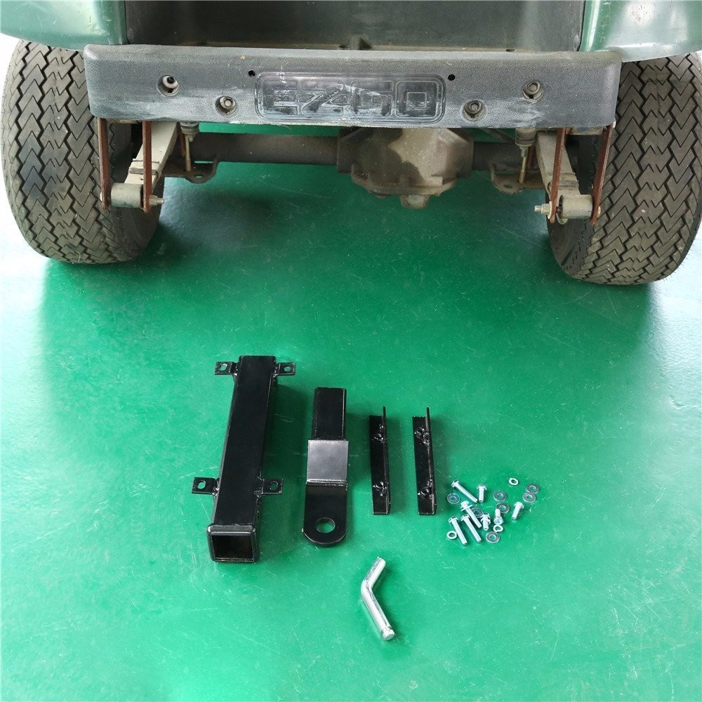 Rear Seat Trailer Hitch with Receiver