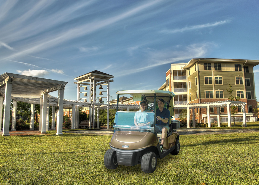 Nocatee Expecting the Pass of Bill for an Entire Golf Cart Community