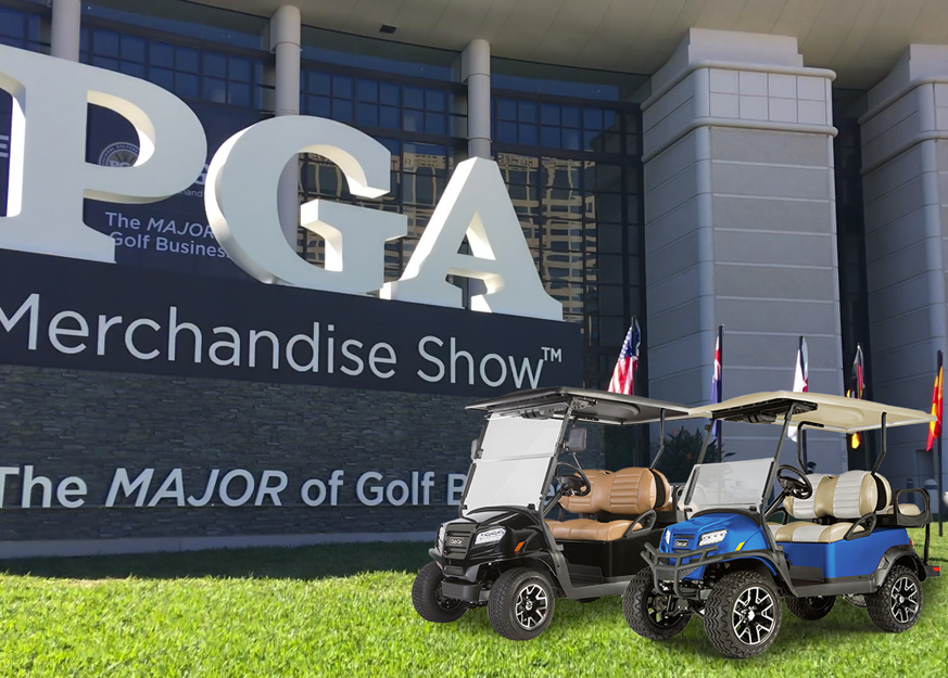 Club Car & Its Onward Draws Visitors' Attention at 2017 PGA Show