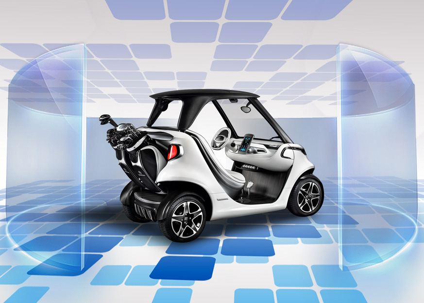 Mercedes-Benz Style Garia Golf Cart: A Real Sports Car