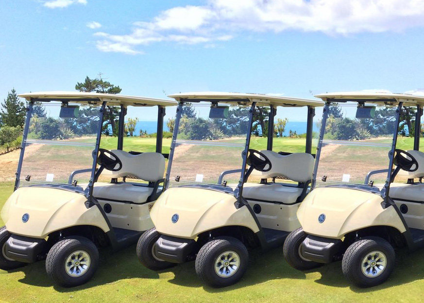 Yamaha Provides New Carts to Jekyll Island's Next Activities